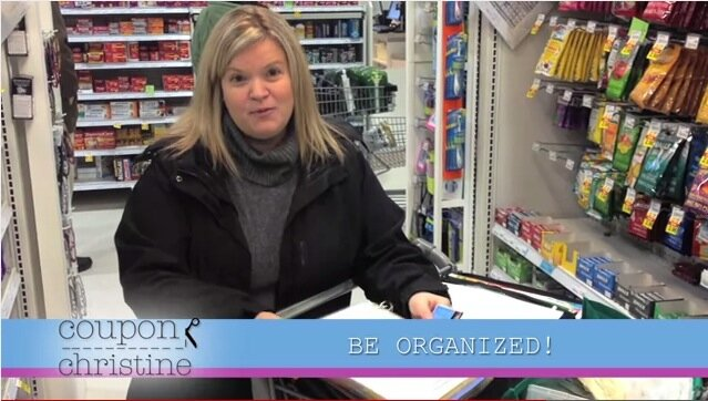 Mail in rebates, On Label Coupons, and Be Organized [video]