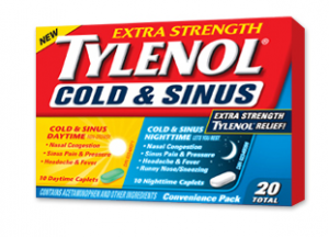 New Printable Tylenol Cold and Sinus Coupon