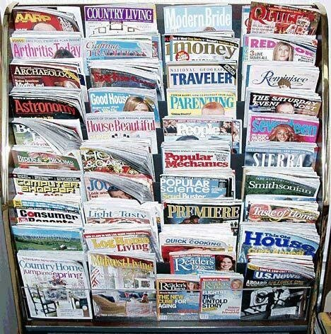 FREE MAGAZINES for you to order