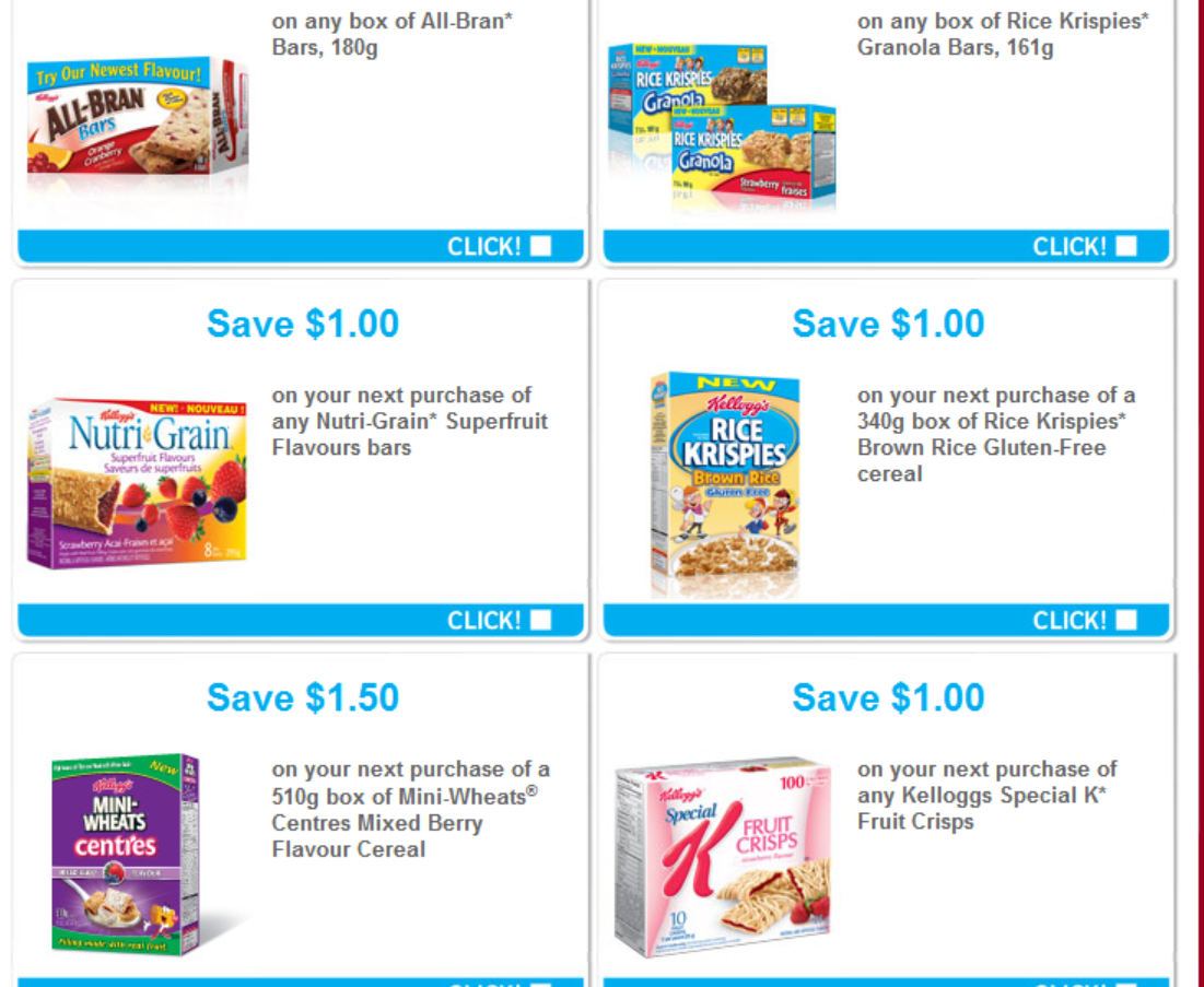 Kellogg's HIDDEN Websaver Coupons still available + 1 high value available with referral