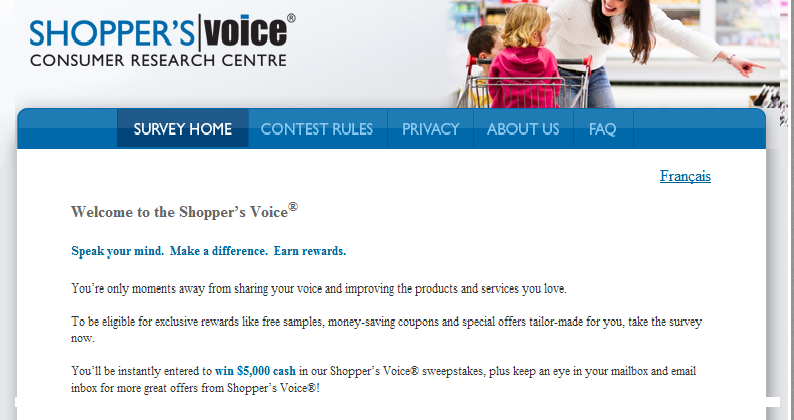 Have you completed the Shopper's Voice Survey yet?