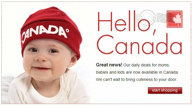 Zulily now in Canada!