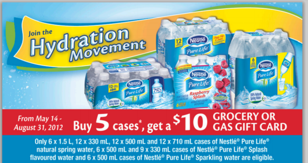 "Join the ""Hydration Movement"" – thank you Nestle – NEW MIR!"