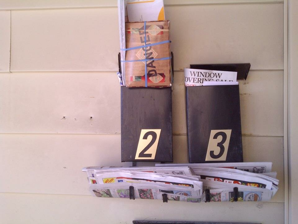 You know you are an avid couponer when your mailbox looks like this!