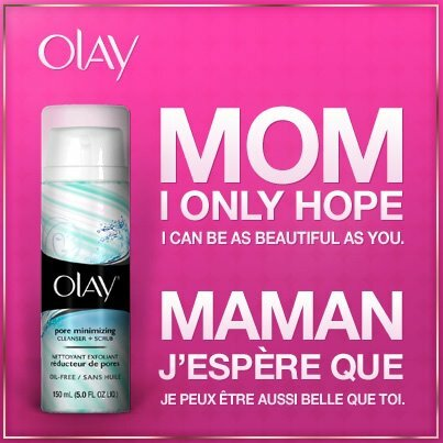 FREE SAMPLE of OLAY for Mother's Day – Sun. May 13 @ 2pm (est)