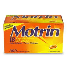 FREE Motrin SAMPLE + COUPONS!