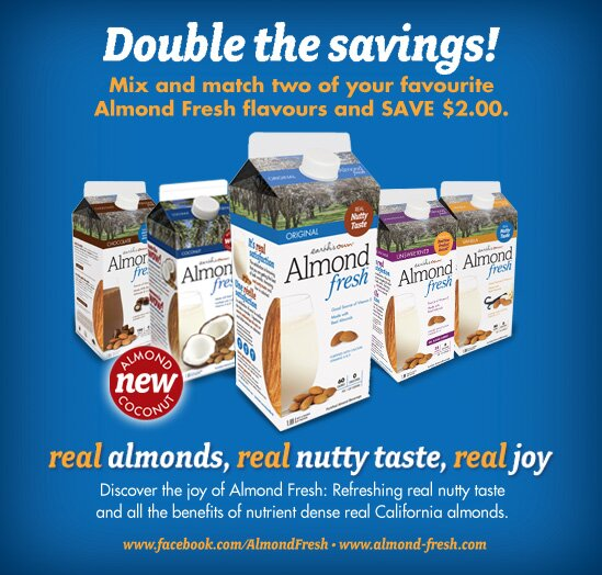 New Almond Fresh Coupon on Websaver