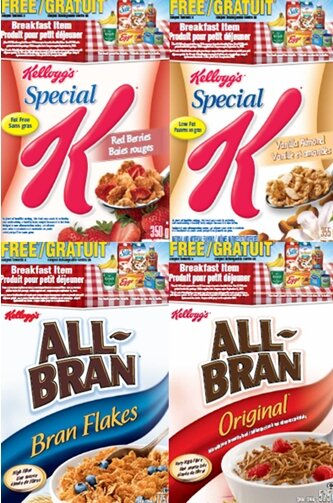 MiniWheats, Bran, and Fibre 1 on sale at Food Basics