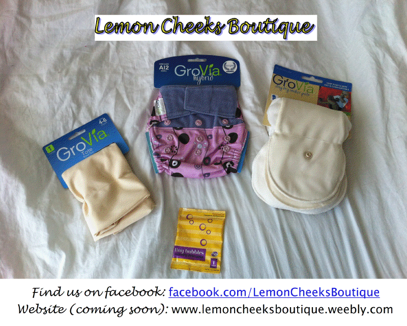 And the winner of the 2000th fan giveaway of a $50 cloth diaper prize pack from Lemon Cheeks is……