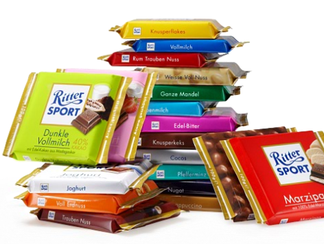 Play the slots to win Ritter Chocolate!