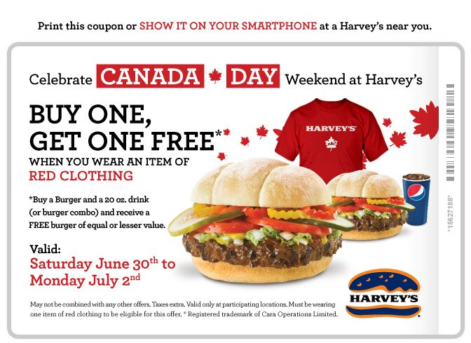 Harvey's Treat for Father's Day Weekend!