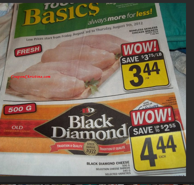 SNEAK PEEK of FOOD BASICS FLYER for Fri. Aug 3 – Thurs. Aug. 9 (ONTARIO)