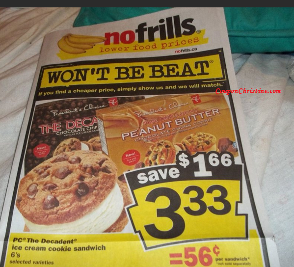 NO Frills SNEAK PEEK for Sales starting Fri. Aug 3 – Thurs. Aug.9, 2012 (ONTARIO)
