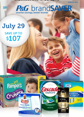 Is this the beginning of coupon word changes?  P&G starts something new