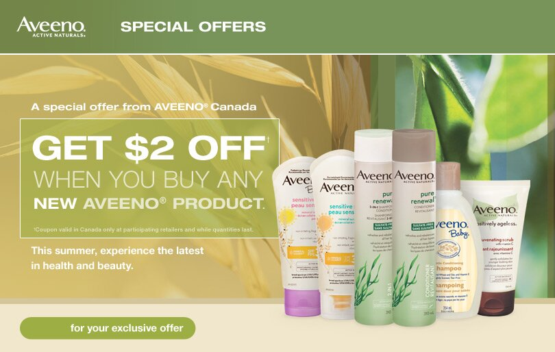 $2 off Aveeno Coupon!