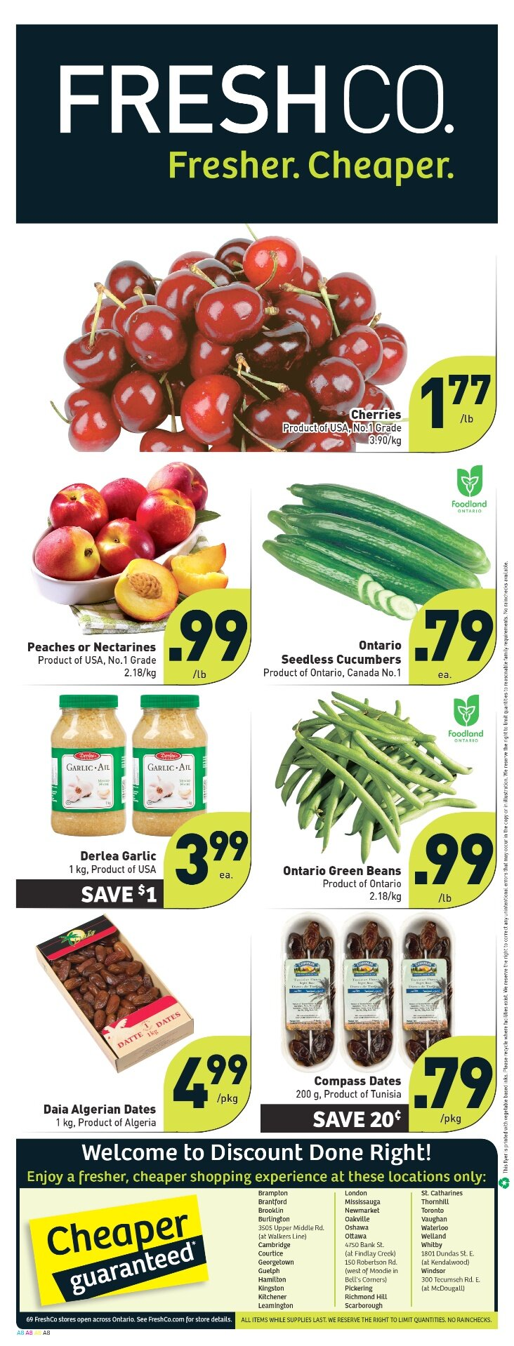Freshco Flyer July 12-July 18 2012