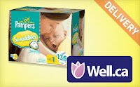 $25 for Pamper's Diapers—Shipping included!