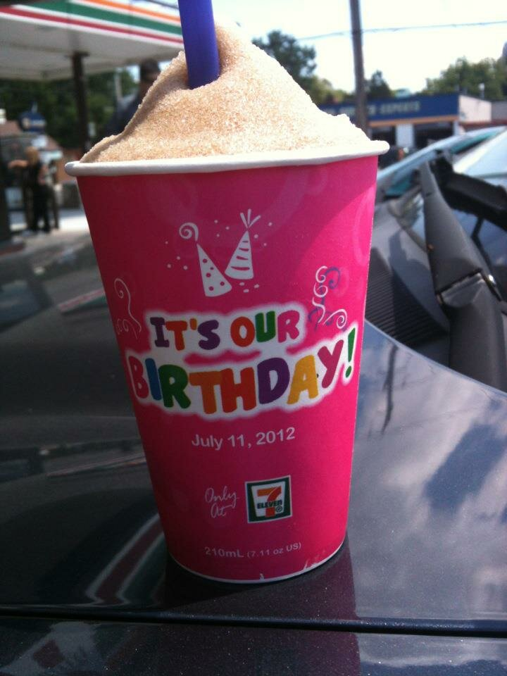 FREE SLURPEE DAY – Happy 43rd Birthday 7-11 :)