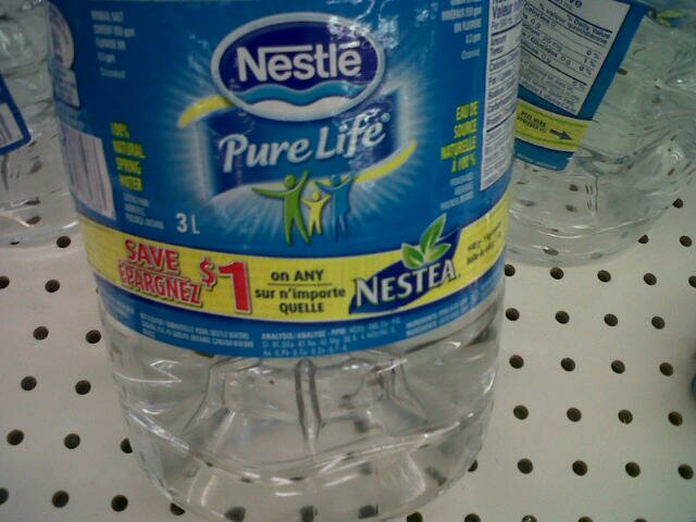 FREE Nestle Pure life water at Walmart