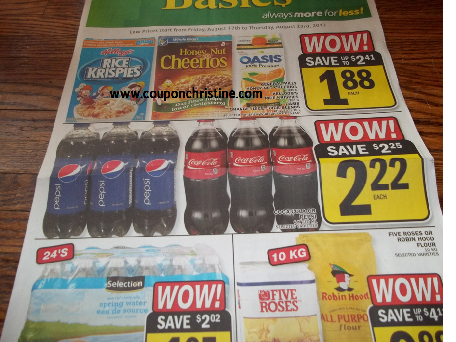 Food Basics SNEAK PEEK of ONTARIO FLYER (Aug. 17 – Aug. 23)