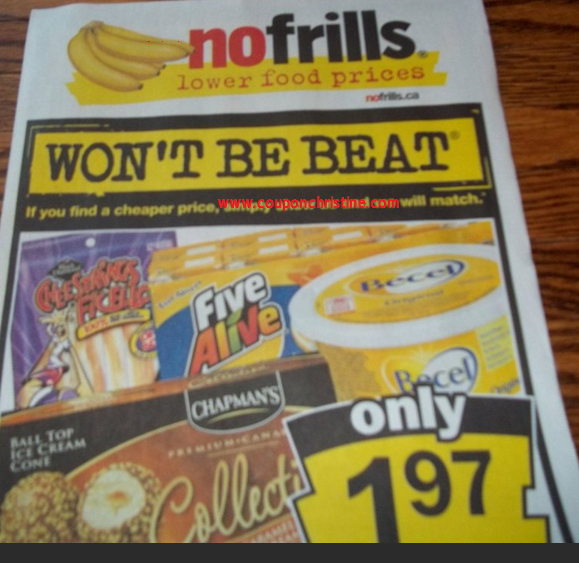 NO FRILLS FLYER SNEAK PEEK for Aug. 10 – Aug 16, 2012
