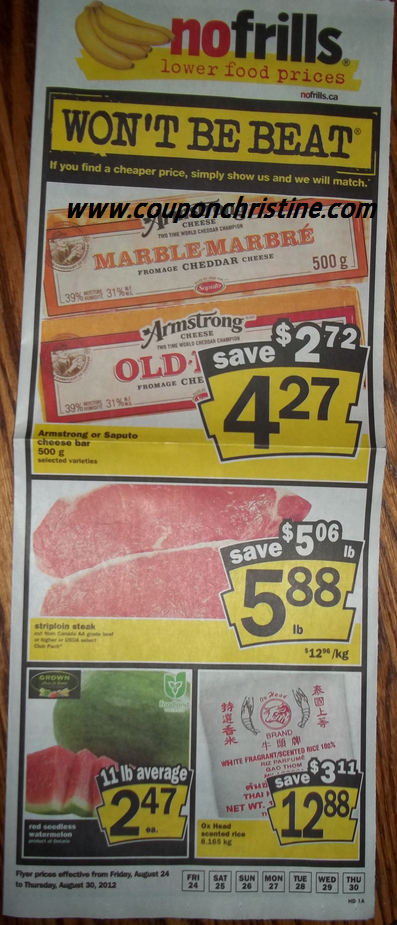 No Frills SNEAK PEEK of Aug. 24 – Aug. 30 FLYER (Ontario)