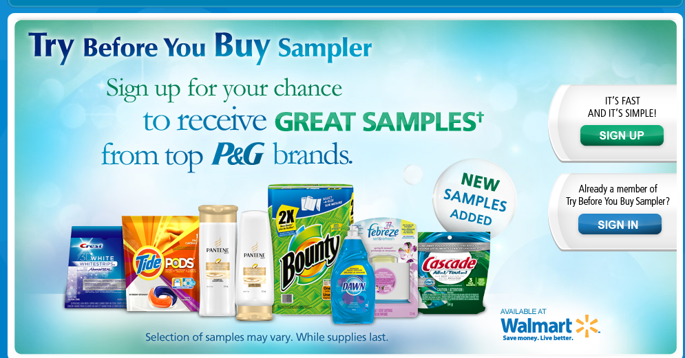 BRANDSAMPLER – TRY BEFORE YOU BUY is LIVE! GO GO GO!!!!