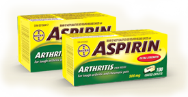 $4 off Aspirin Printable Coupon
