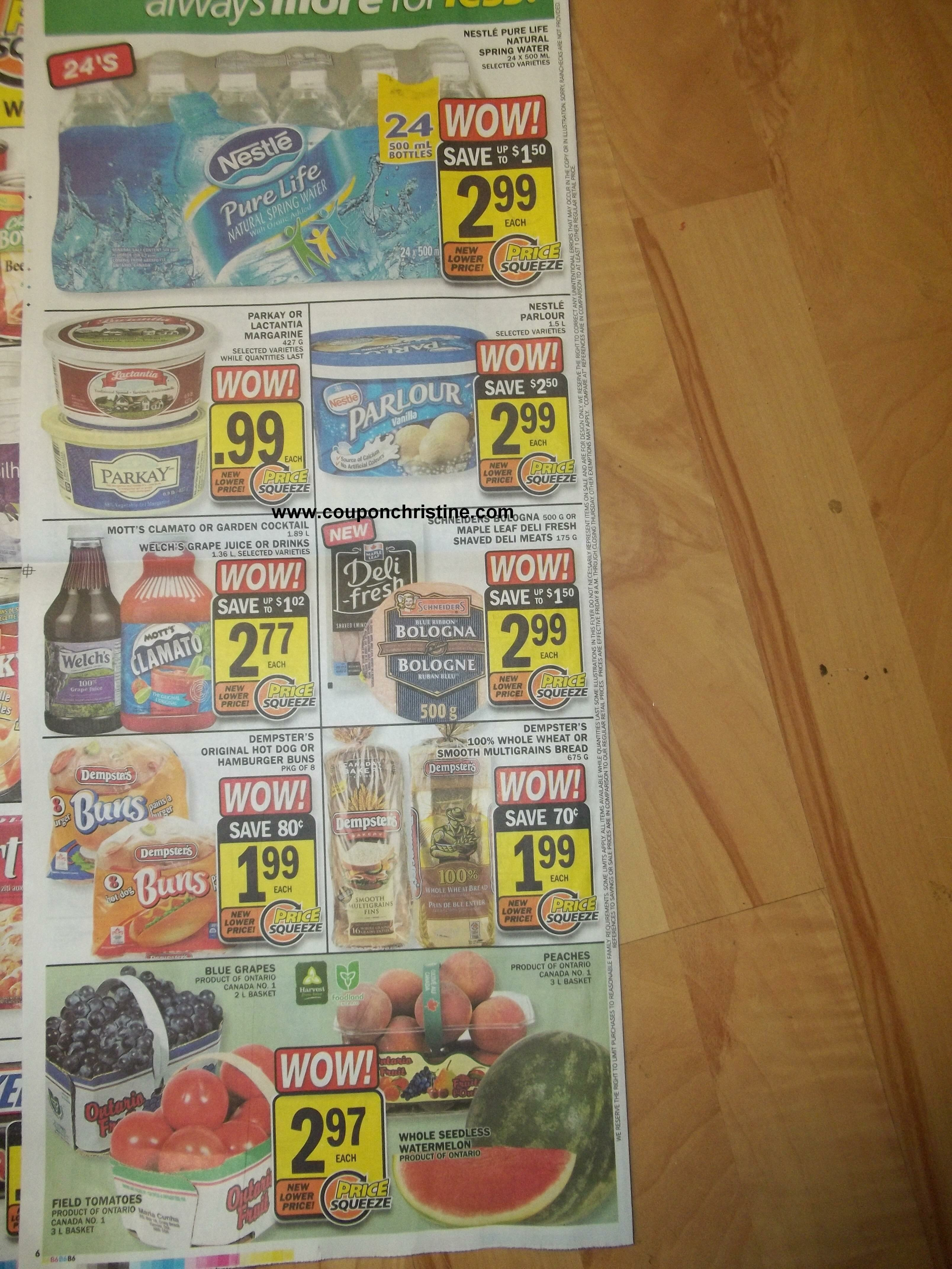 FOOD BASICS Flyer Preview (ONT) Aug 31-Sep 6 2012