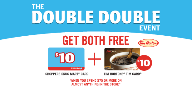 Shopper's Gift Card Promotion this weekend!