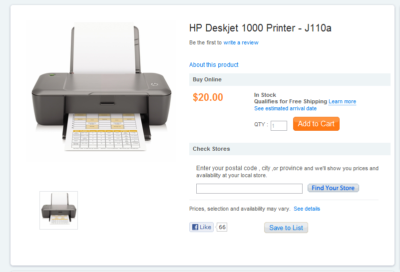 CHEAP PRINTER at WALMART for all your Coupon Printing Needs