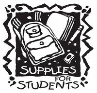 Supplies for Students and Stuff the Bus!