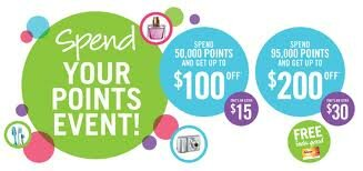 Shopper's Spend your Points Event!
