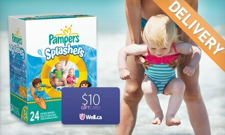 Pampers Splashers Deal +Gift Card!