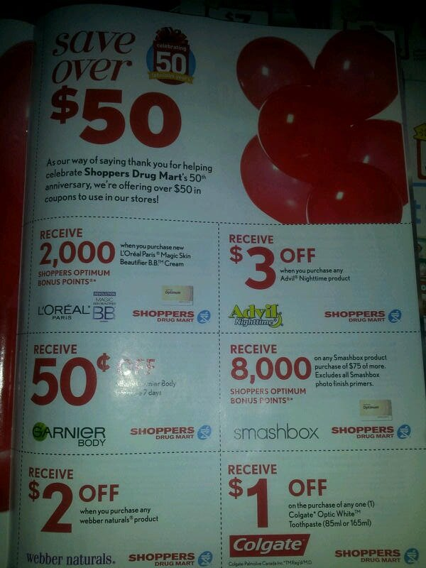 *NEW* Coupon Booklet SPOTTED at Shoppers Drug Mart – Ontario locations