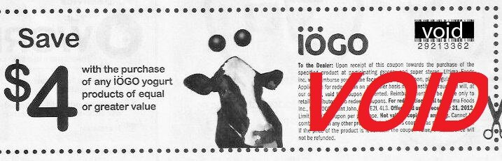 OH BOY :( Fraudulent Coupon Circulating – IOGO $4 off Coupon – READ and SHARE in your GROUPS