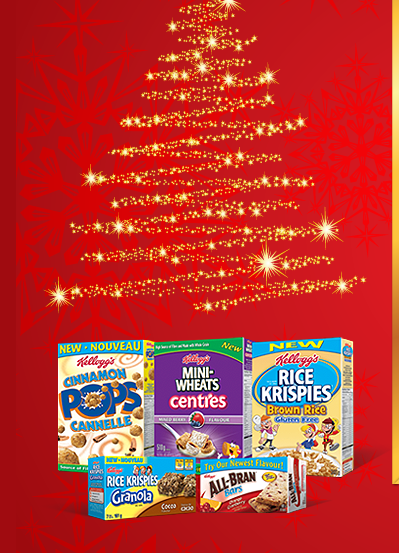 Let's get EXCITED!  Kellogg's Holiday Box Update