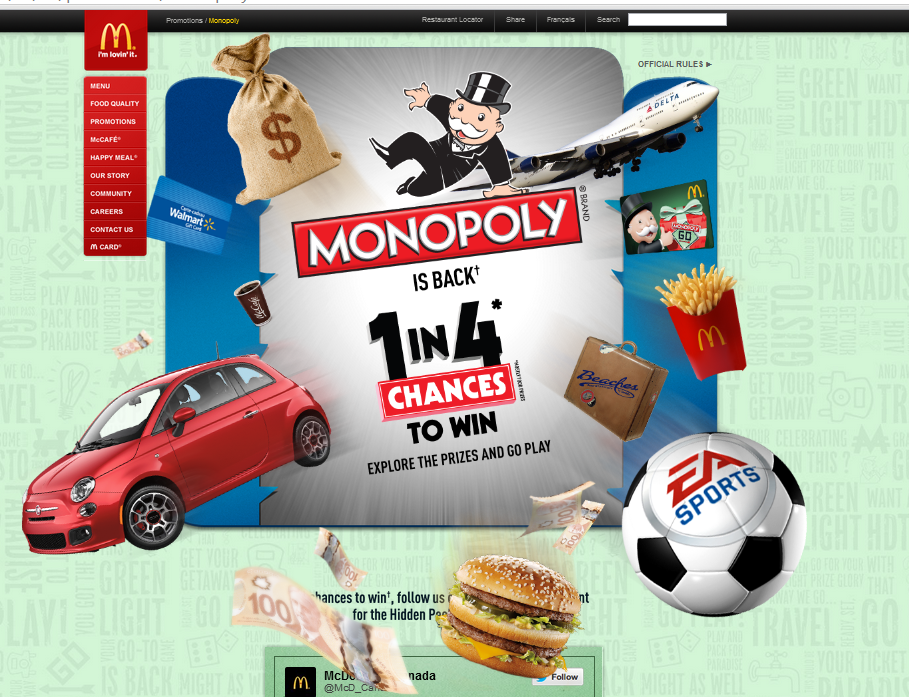 Monopoly is BACK at McDonald's!