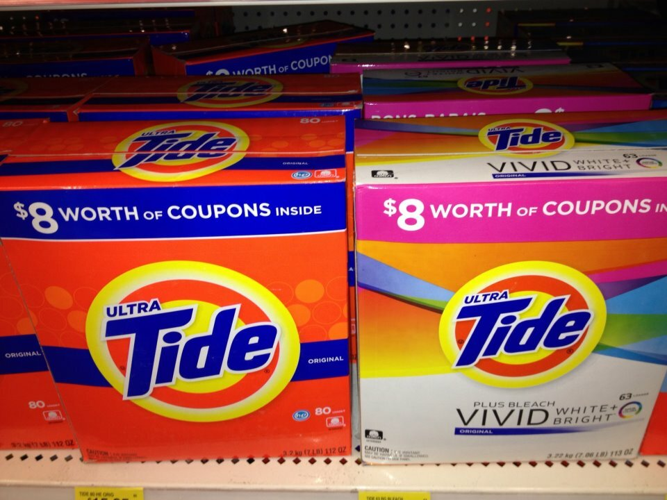 * NEW COUPONS on PRODUCTS FOUND * – $8 off coupons inside boxes of powdered Tide