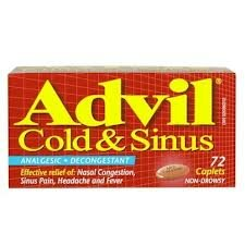 $1.99 Advil Cold &Sinus or Advil Liqui-Gels