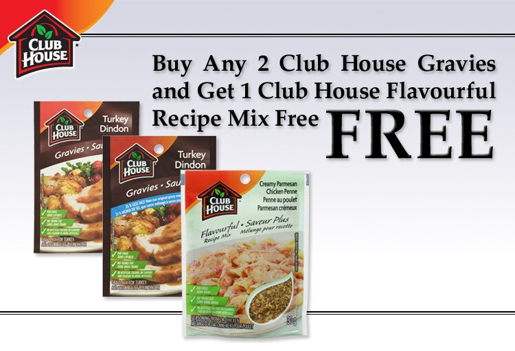 New Club House coupon on Save.ca