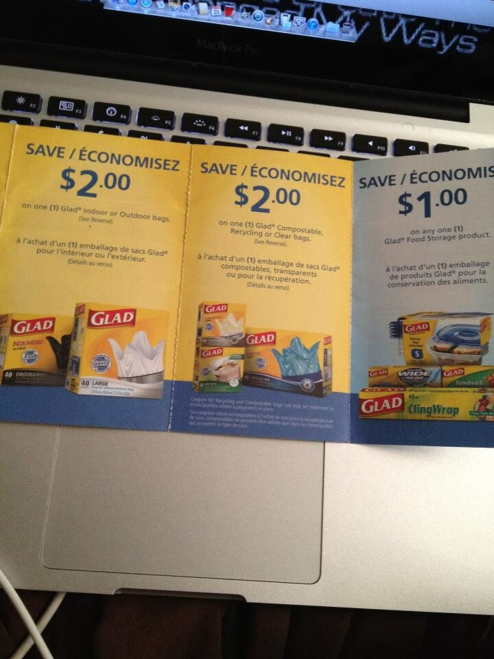 *NEW PACKAGE COUPONS* Glad Bags – $5 off coupons inside for FURTHER savings!