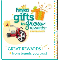 ** September Pampers FREE 15 Gifts to Grow Point Codes **