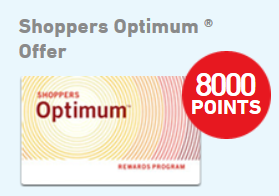 Did you get your 8000 Bonus Points Added to your Optimum Card? Go Check