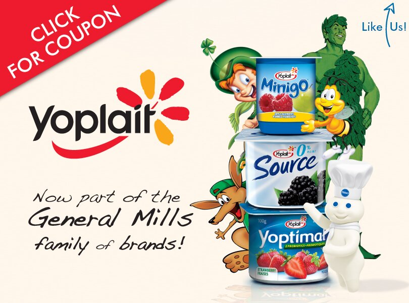 2 New Yoplait Coupons on Save.ca!