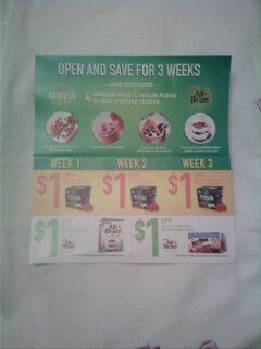 *NEW COUPON BOOKLET FOUND in Ontario – All Bran Bars, Activia and All Bran Cereal *