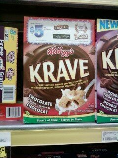 KRAVE CEREAL Coupons Found