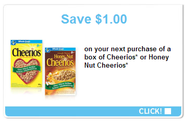 $1 off CHEERIOS COUPON