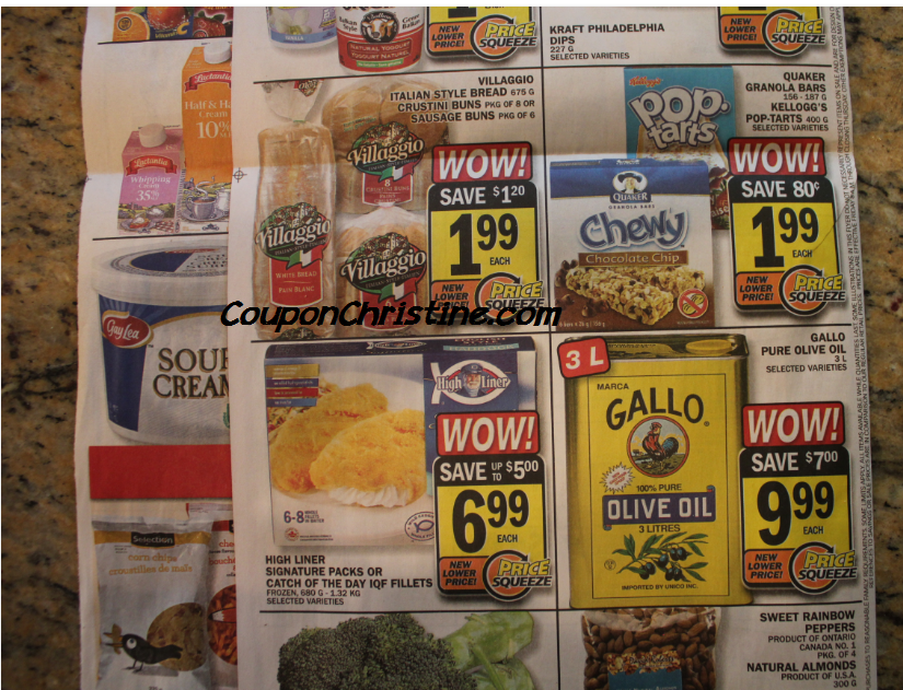 VILLAGGIO BREAD for .49 cents (with coupon) at Food Basics – starting Fri, Oct. 19 – Oct. 25