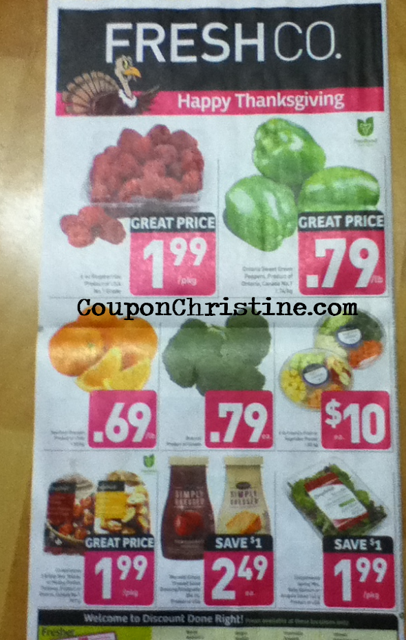 FRESHCO FLYER SNEAK PEEK (Oct. 4 – 10, 2012)